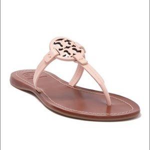 Tory Burch Gabriel Leather T Strap Sandal